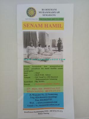 Pendaftaran senam hamil RS Roemani Semarang