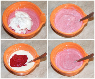 retete inghetata de casa cu fructe, preparare inghetata de zmeura, retete culinare,