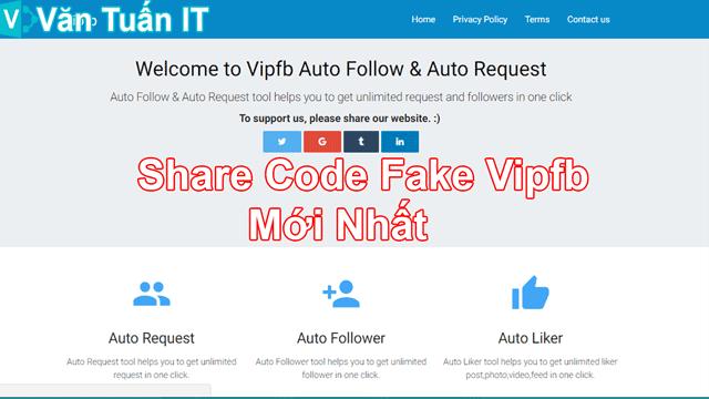 Share Code Fake Vipfb Mới Nhất