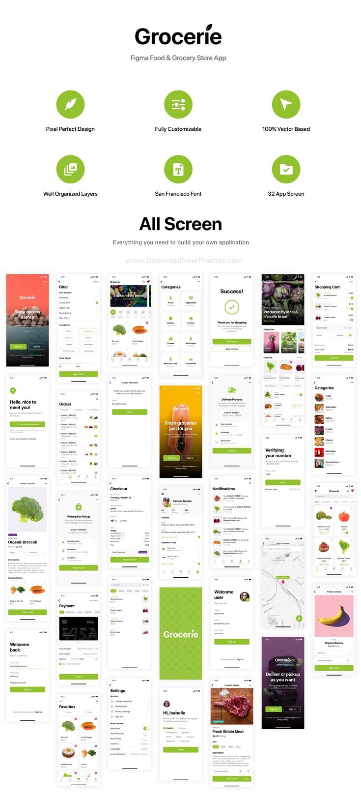Food & Grocery Store App
