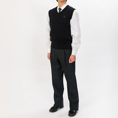 新潟県立 高田農業高等学校(男子指定制服)