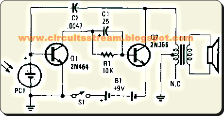 Simple Electronic Music Maker Circuit Diagram