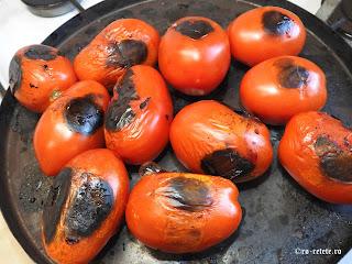 Rosii la gratar reteta legume coapte la grill sau tigaie retete sos tomat de casa,