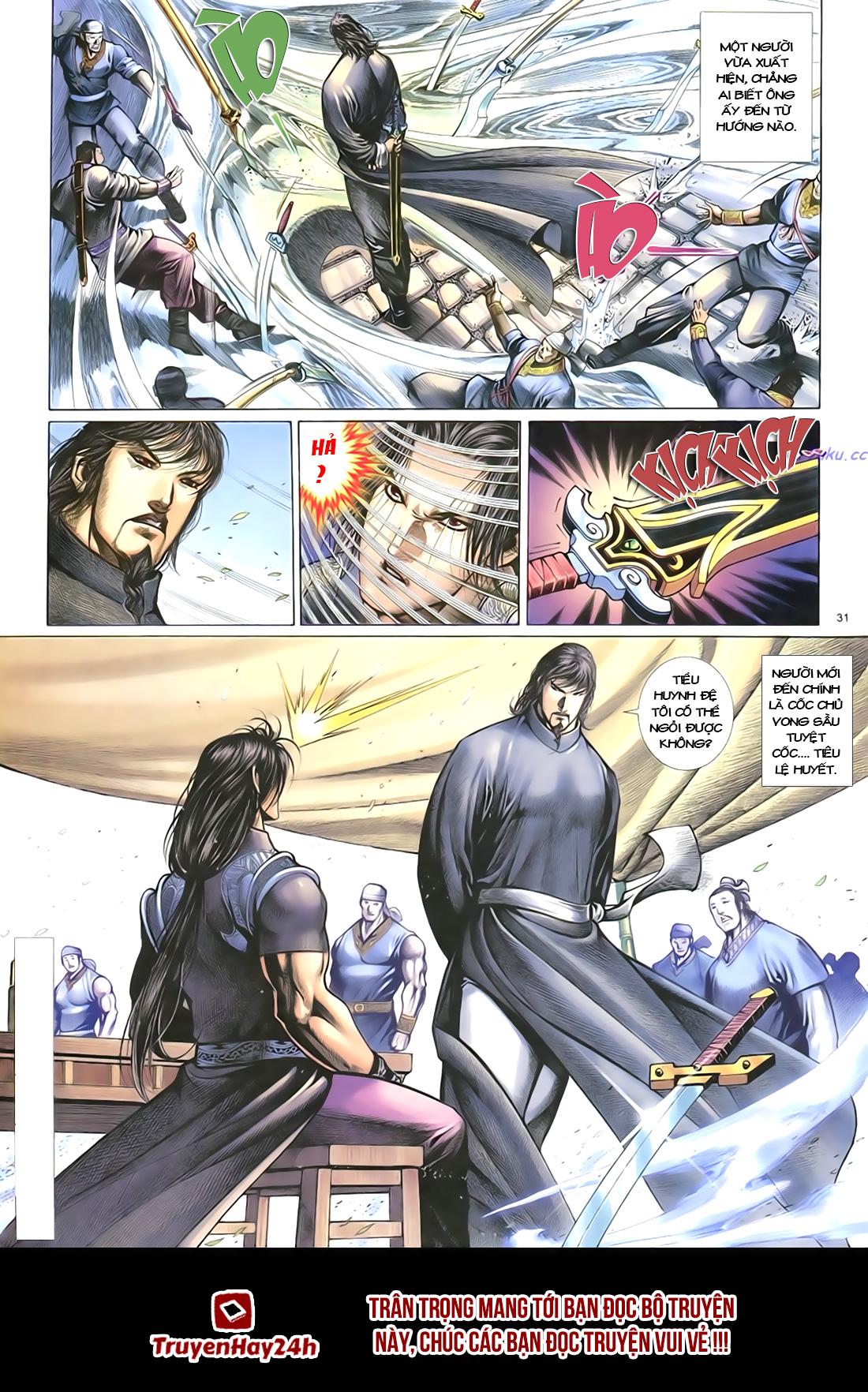 Anh hùng vô lệ Chap 18 trang 34