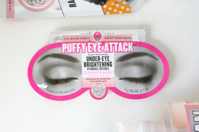 Soap and Glory puffy eye attack review
