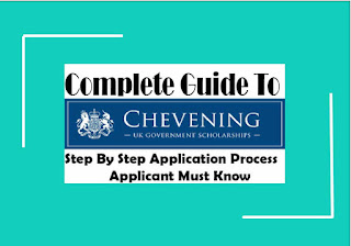 Chevening UK Government Scholarship Application Guide For Students