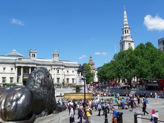 Trafalgar Square, London, UK - Sincerely Loree