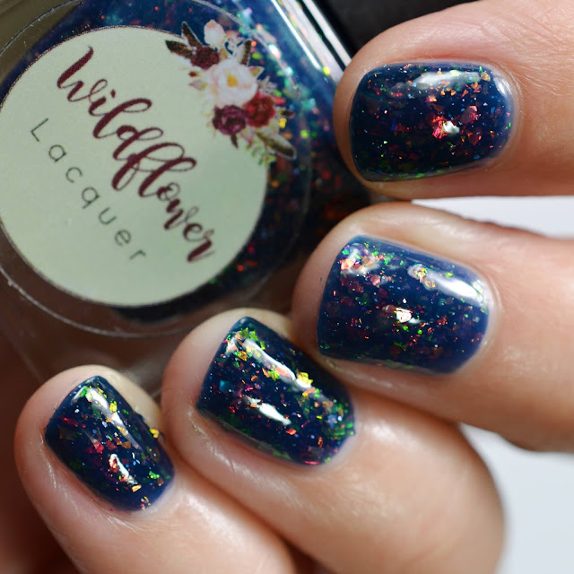 Wildflower Lacquer Seas the Day swatch