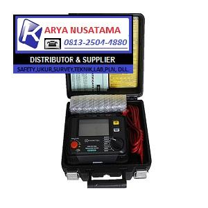 Jual Kyoritsu 3125A Insulation Tester Megger 5kV di Makasar