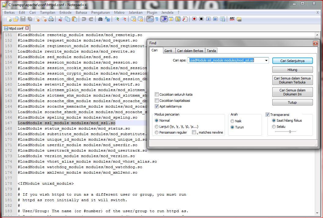 Cara Memperbaiki Error Apache Shutdown Unexpectedly pada XAMPP