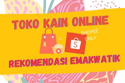toko kain online di shopee