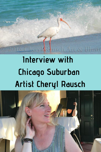 Interview with Chicago area photographer and illustrator Cheryl Rausch