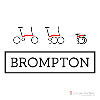 Brompton Bicycle Logo vector (.cdr)