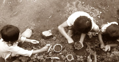 permainan tradisional Masak-masakan