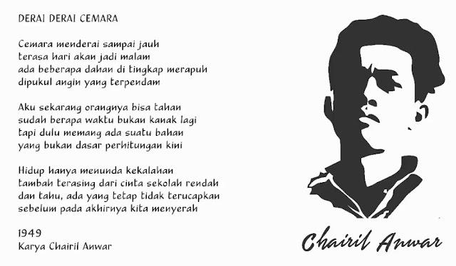 Derai-Derai Cemara Karya Chairil Anwar