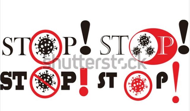 illustration online free stop corona