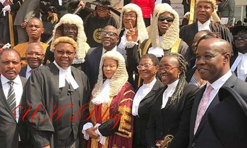 PHOTOs: Eulogies As Court Of Appeal, President, Justice Bulkachuwa, And Justice Chinwe Iyizoba Retire