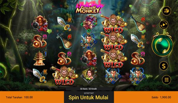 Main Gratis Slot Indonesia - Golden Monkey Spadegaming
