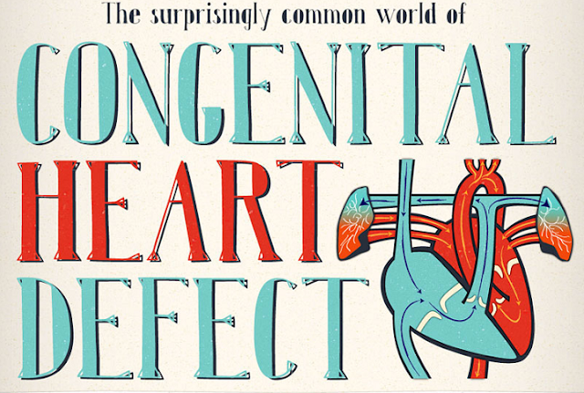 The-Surprisingly-Common-World-Of-Heart-Defects #Infographic
