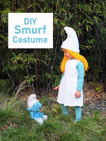 Smurf Costume DIY