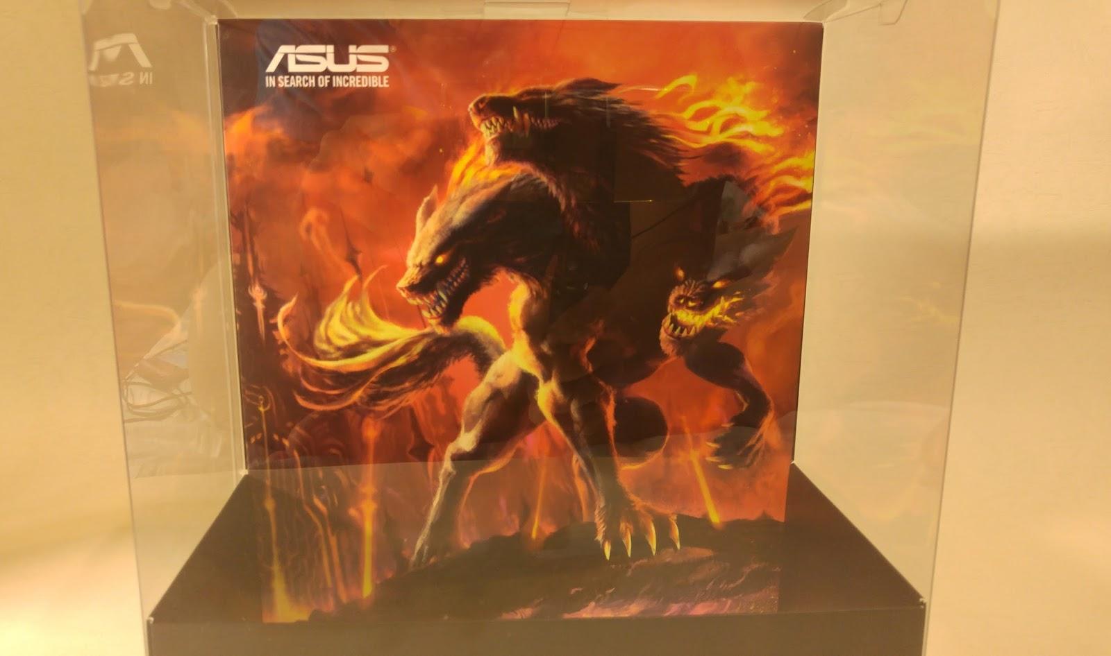 地獄三頭犬,烈火進化 ASUS Cerberus V2 輕測試