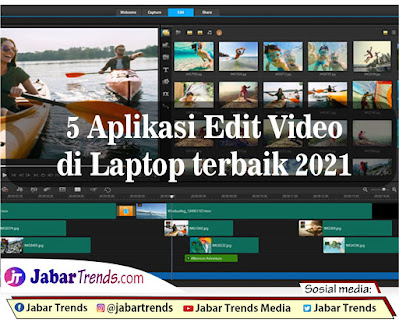 5 Aplikasi Edit Video di Laptop terbaik 2021
