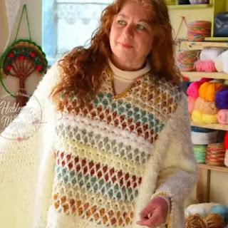 Poncho Marroquí a Crochet
