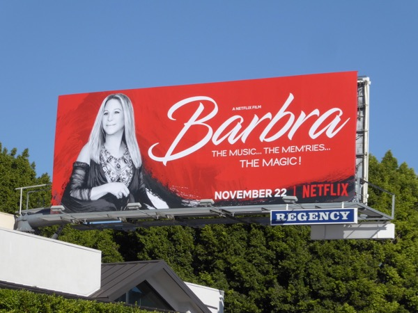 Barbra Music Memries Music Netflix billboard