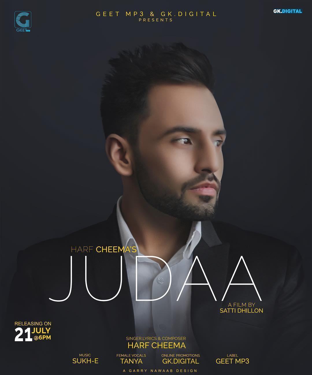 Ronda Ronda New Punjabi Songs 2018: JUDAA LYRICS & Download – Harf Cheema