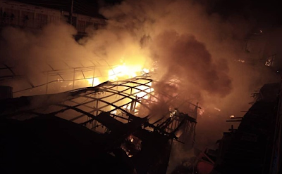 Fire razes NYSC secretariat in Delta