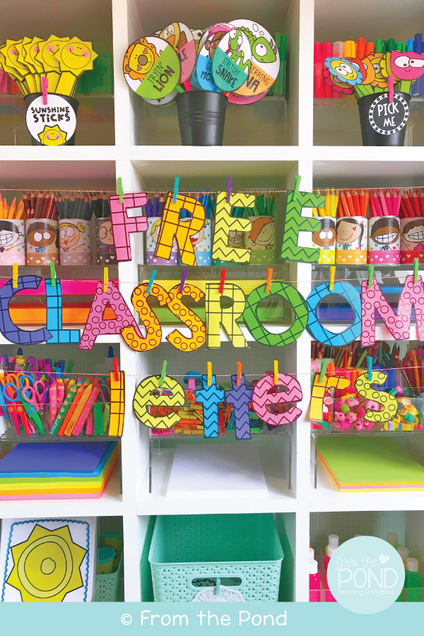 Free Classroom Letters for Boards