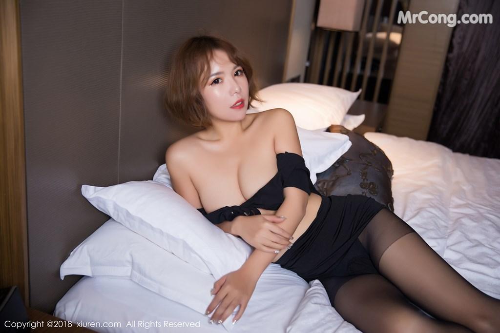 Image XIUREN-No.1264-Ya-Wen-MrCong.com-047 in post XIUREN No.1264: Người mẫu Ya Wen (雅雯) (61 ảnh)