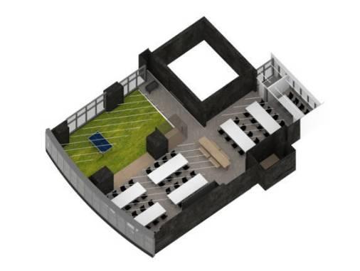 Konsep kantor 9GAG yang minimalis tapi nyaman