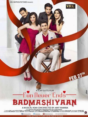 Badmashiyaan (2015) Movie Poster