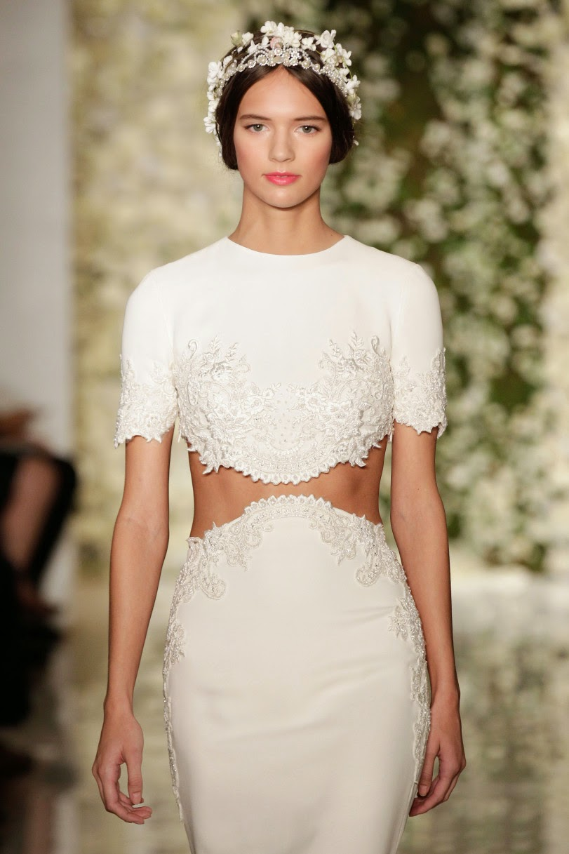 Concierge4fashion The Most Beautiful Girl In The World: Concierge4Fashion: Reem Acra Bridal Fall 2015