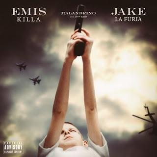 """Copertina di """"Malandrino"""", il nuovo singolo di Jake La Furia e Emis Killa."""