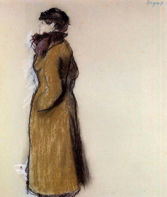 Эдгар Дега - Портрет Элен Андрэ (ок.1879)