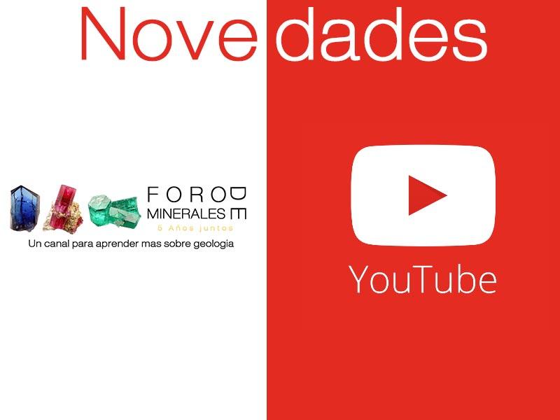 Foro de Minerales - Canal de Youtube - Click aqui