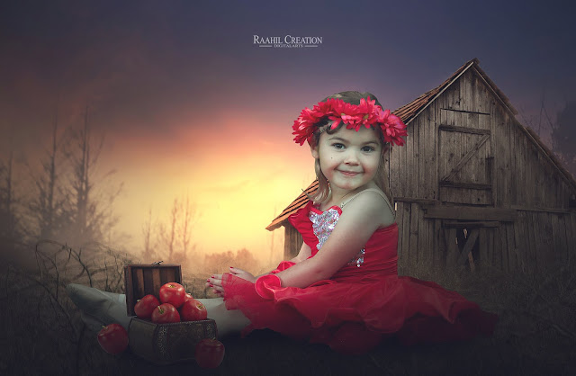 Outdoor Child Photo Edit | Photoshop cc Tutorial