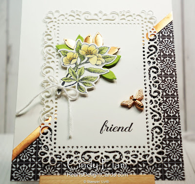 Heart's Delight Cards, Botanical Prints, Bee, Friend, 2020 Jan-June Mini Catalog, Stampin' Up!