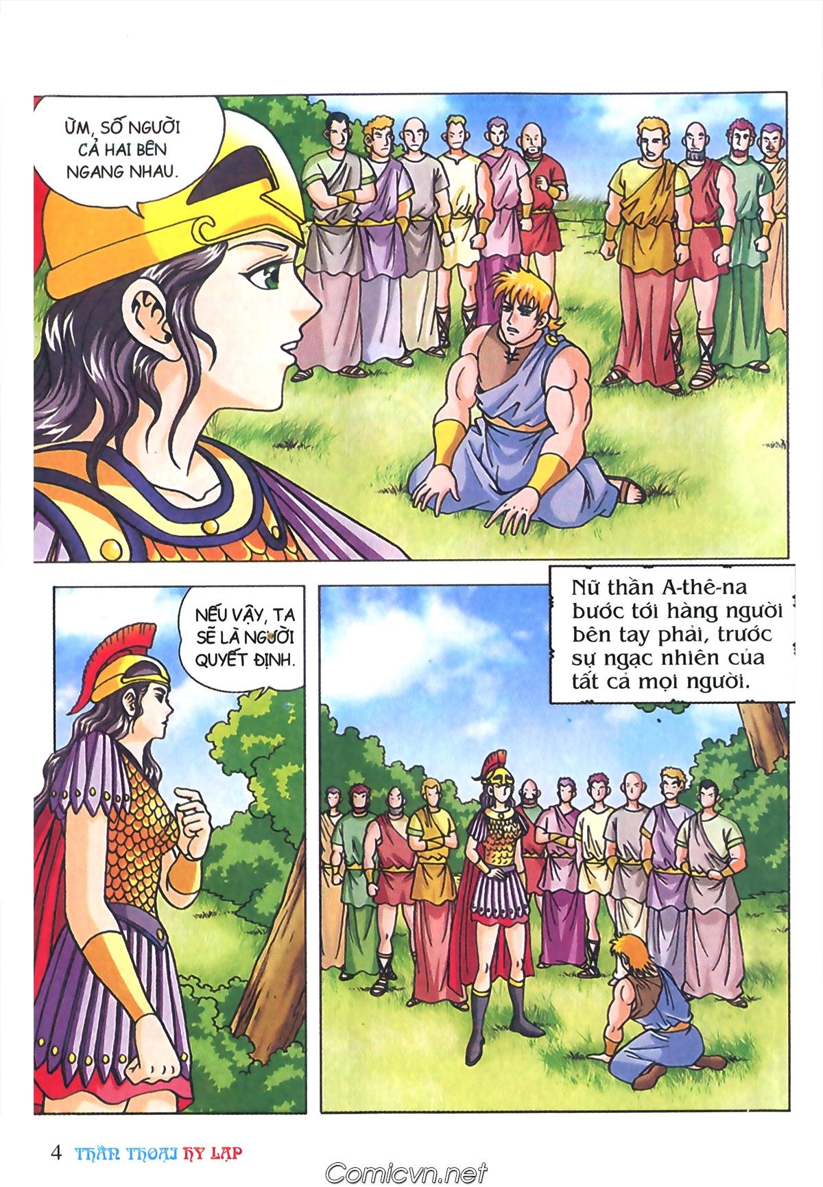 Thần Thoại Hy Lạp Màu - Chapter 72: Phán quyết của Nữ thần Athena - Pic 3