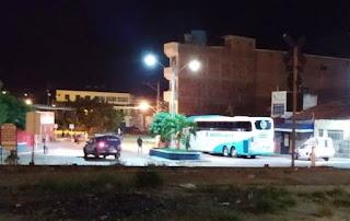 Passageiros que chega a Tanhaçu
