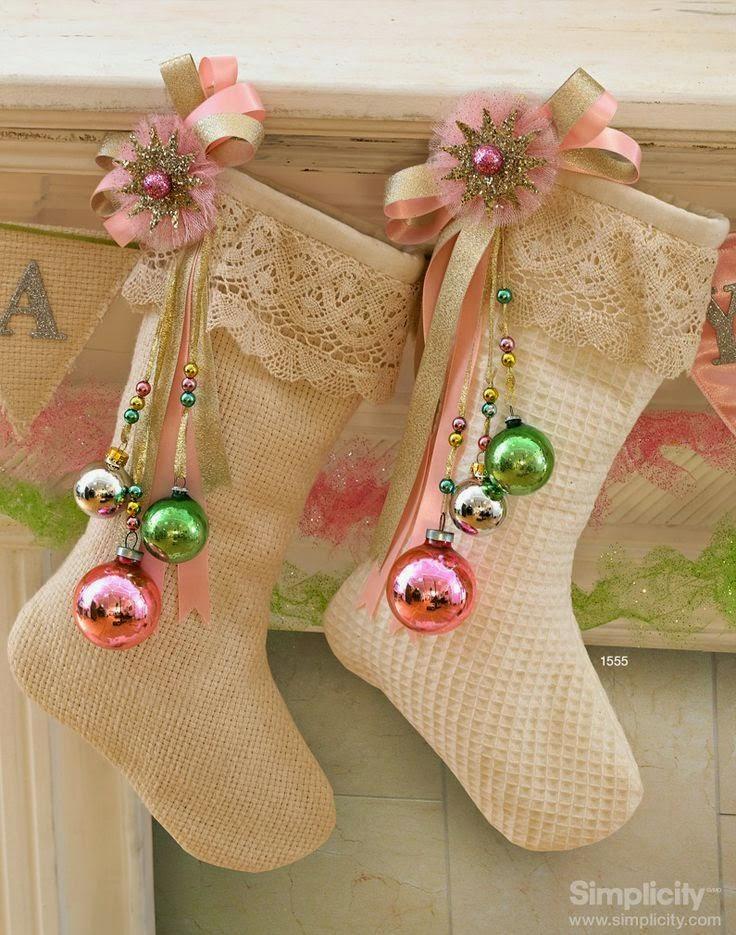 Victorian Christmas Stockings.Wee Inklings Victorian Christmas Stocking Card