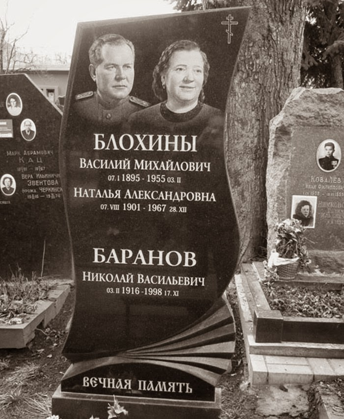 Vasili Blokhin tomb