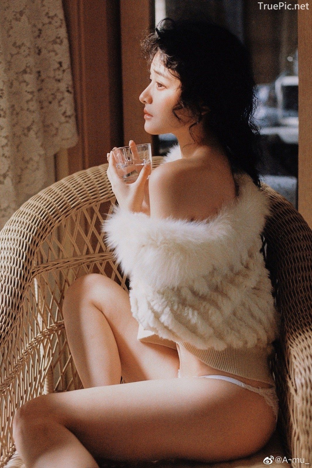 Chinese sexy model - Beautiful Fairy in white - Photos by A-mu - Picture 10