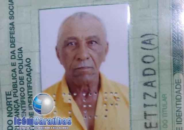 Homem de 68 anos é morto a tiros dentro de casa no conj. Maria Bandeira em Caraúbas