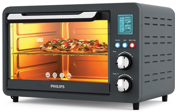 Phillips HD6975/00 Digital OTG, 25 Litres, 1500 Watts - Affordable, Reliable, and Best for the family of up to 5 people.