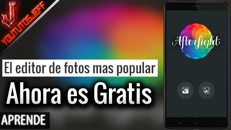 El editor de fotos mas popular ahora es gratis en Android - Afterlight
