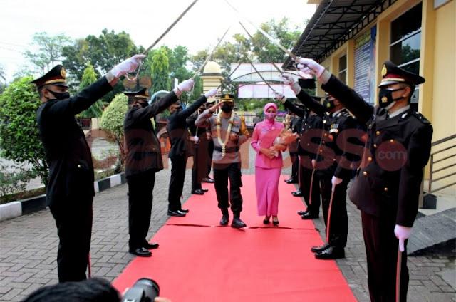 Polresta Banda Aceh Gelar Kenal Pamit Pejabat Baru
