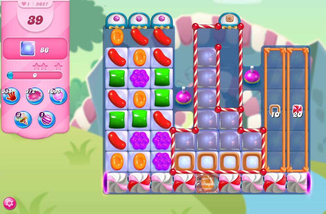 Candy Crush Saga level 9057